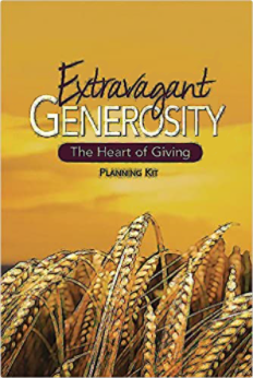 """Extravagant Generosity: The Heart of Giving"" Planning Kit"