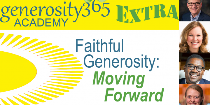 July News: generosity365 Academy EXTRA on August 1, More